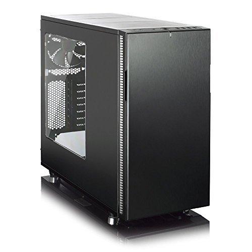 Fractal Design Define R5 Blackout No Power Supply ATX Mid Tower w/ Window (Black) by Fractal Design (Image #1)