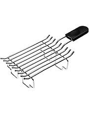 Kitchenaid 5KTBW222 broodjesopzetstuk broodjesrooster, roestvrij staal, zilver/zwart