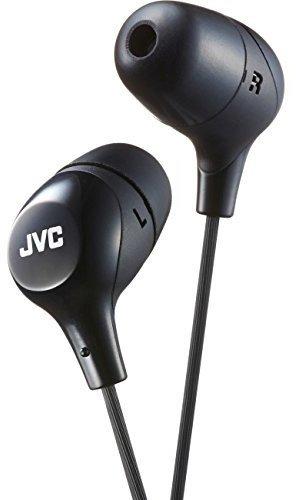 JVC Memory Foam Earbud Marshmallow Memory Foam Earbud Black (HAFX38B) - Jvc Black Marshmallow Headphones