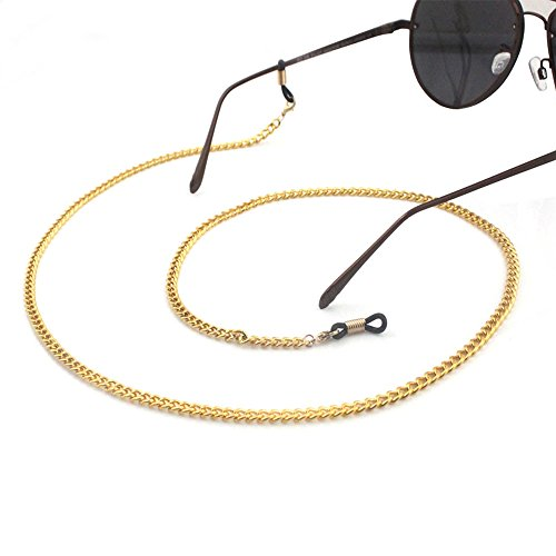 CROISSANT Fashion Glasses Chain Glasses Sunglasses Chain Glasses Retainer Strap,Secure Fit For Your Glasses And Eyewear【Exquisite Gift Packaging】 (Crude - Getting Prescription Sunglasses