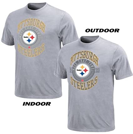 Amazon.com   NFL Pittsburgh Steelers Hall of Famer Gamer III T-Shirt ... 81f5fa58f