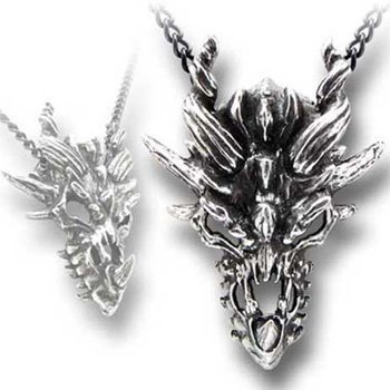 Dragon Skull Alchemy Gothic (Metal-Wear) Pendant