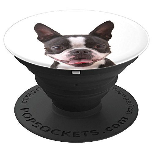 Boston terrier - PopSockets Grip and Stand for Phones and Tablets - Boston Terrier Rescue