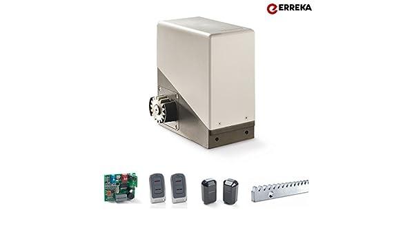 Motor Erreka Kit para puerta corredera TORO 1800 hasta 1800Kg: Amazon.es: Bricolaje y herramientas