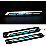 AllExtreme Universal Daytime Running Light Waterproof Working Lights Flexible LED DRL Driving Lamp for All Bikes and Cars (20W, Model 2)