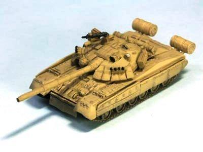 (1/144 World Tank Museum Series 06-107 T-80U dessert camouflage single item)