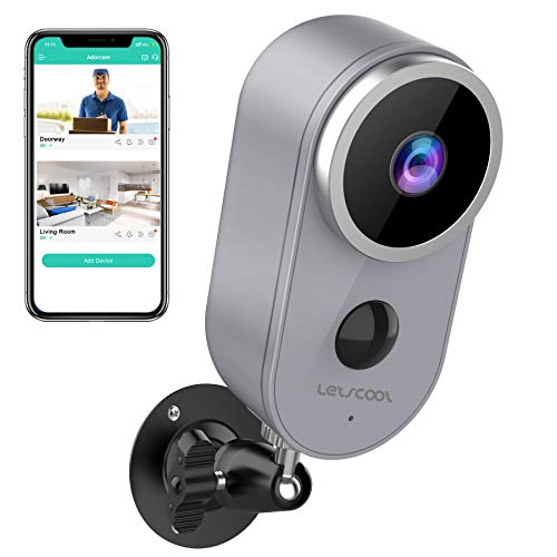 🥇 Wireless Camera for Home Security – Rechargeable Battery Powered WiFi Camera