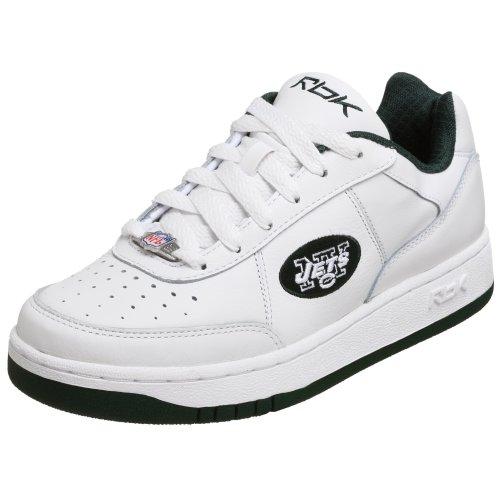 UPC 883632033376, Reebok Men's NFL Jets Recline Lining Sneaker,White/Green,6.5 M