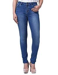 Lark Women's Basic Mid Blue Skinny jean