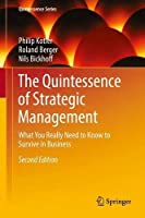 The Quintessence of Strategic Management, 2nd Edition Front Cover