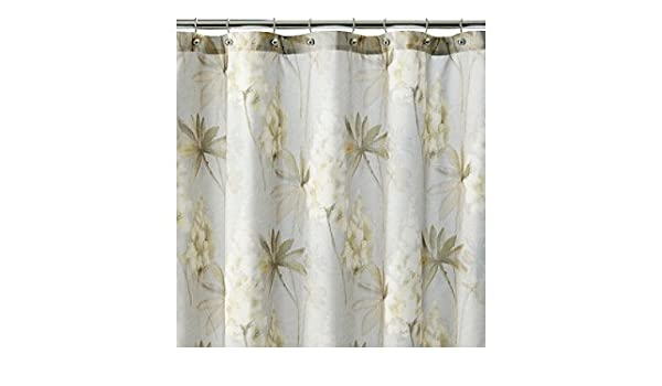 Amazon J Queen New York Acacia Floral Fabric Shower Curtain Home Kitchen