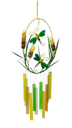 Gift Essentials Dragonflies and B018RMABMO Cattails and Wind Essentials Chime B018RMABMO, ワイシャツのトレンドスタンダード:9979deba --- m2cweb.com