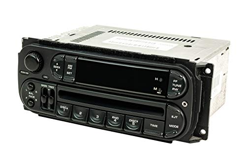 1 Factory Radio AMFM CD Player Upgraded w Aux Input Compatible With 2002-2005 Dodge Neon RBK Slider Ver P05064354