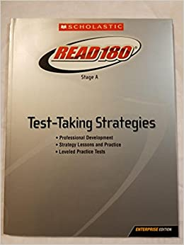 Book Read 180: Stage A Test-Taking Strategies