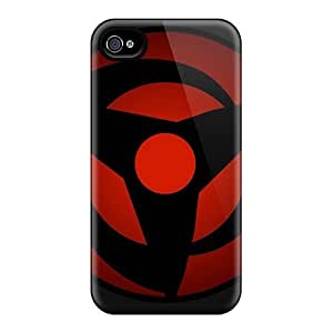 StaceyBudden Scratch-free Phone Cases For Iphone 6plus- Retail Packaging - Vector Naruto Shippuden Sharingan