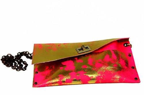 Designerhandtasche, Echtleder, Handarbeit, designed by HOB Bangkok