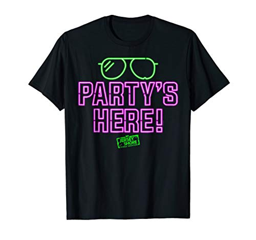 Jersey Shore Family Vacation Partys Here T-Shirt