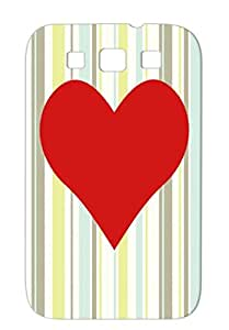 Love Black Couples Love For Sumsang Galaxy S3 Cover Case