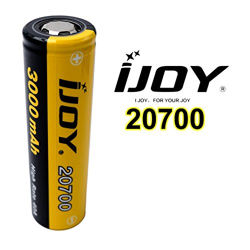 iJoy 20700rechargeable battery with 3000mAh 3.7V Ideal for e-shishas,...