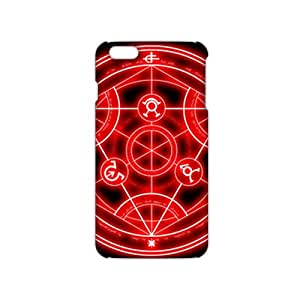 Slim Thin Red circle pattern Phone Case for iPhone 6