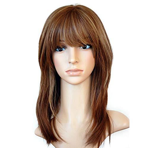 elige tu favorito BQWXCAZ Peluca Peluca de de de encaje de la persona del frente del pelo peluca corta frente peluca   12 pulgadas  auténtico