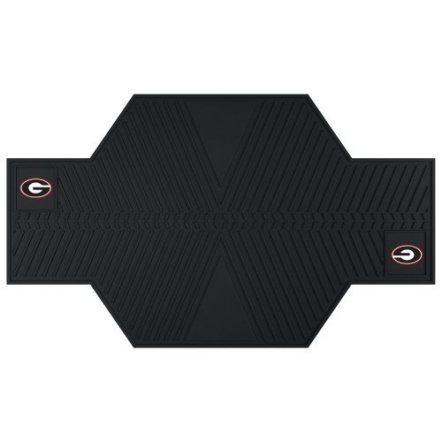 CC Sports Decor NCAA University of Georgia Bulldogs Motorcycle Parking Mat Oil Resistant Motorcycle Accessory
