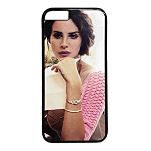 iCustomonline Case for iPhone 6 PC, Favorite Singer Lana Del Rey Stylish Durable Case for iPhone 6 PC