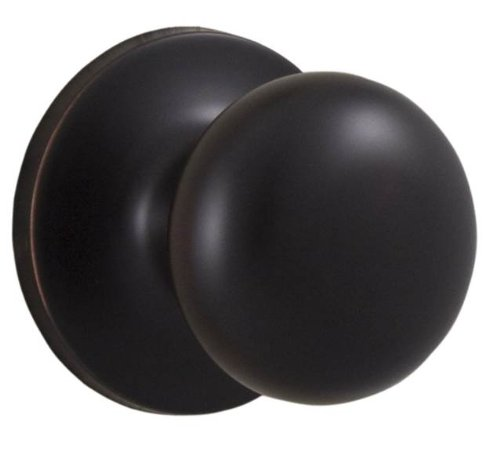 Weslock 00200S1S1FR20 Salem Knob, Oil-Rubbed Bronze (Bronze Weslock Rubbed Oil)