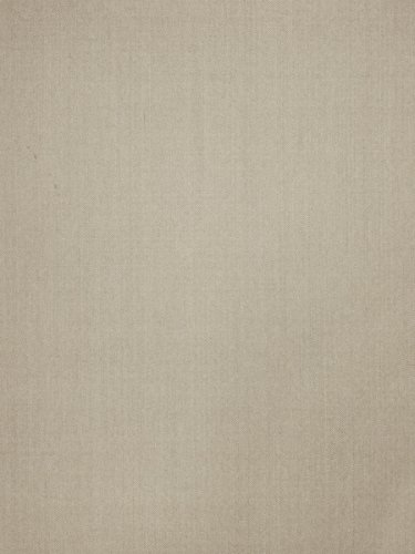 Taupe Tan Linen Herringbone Houndstooth Diamond Ogee Wovens Upholstery Fabric by The Yard (Houndstooth Upholstery Fabric)
