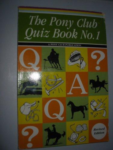 Pony Club Quiz Book: No. 1