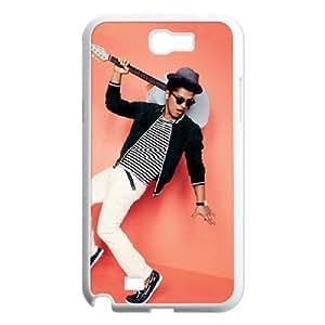 C-EUR Diy Phone Case Bruno Mars Pattern Hard Case For Samsung Galaxy Note 2 N7100