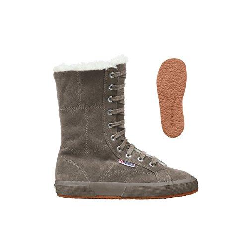 Superga 2040-SUEBW - Zapatillas altas, color: Beige Full Sand
