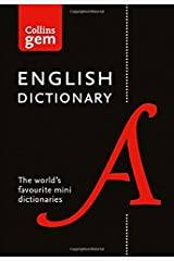 Collins English Gem Dictionary: The world's favourite mini dictionaries (Collins Gem) Paperback