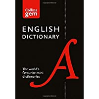 Collins English Gem Dictionary: The world's favourite mini dictionaries (Collins Gem)