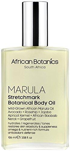Marula Stretchmark Botanical Body Oil, African Botanics