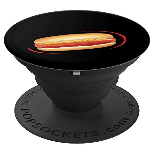 Hotdog Halloween Costume Pop Socket Groups - PopSockets Grip and Stand for Phones and -
