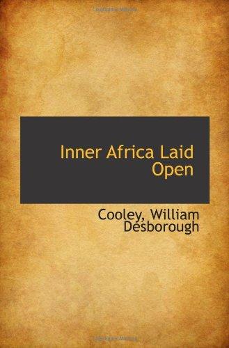 Inner Africa Laid Open pdf epub