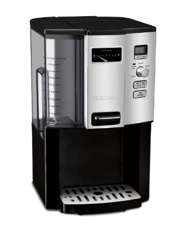 Cuisinart Coffee-on-Demand Automatic Programmable Coffeemaker, 12 Cup Removable Double Walled Coffee and Water Reservoir, with Dispensing Lever, and Auto Brew and 1-4 Cup Brewing, with Auto Clean Feature, Permanent Gold Tone and Charcoal Filter Included by CUISINART (Image #3)