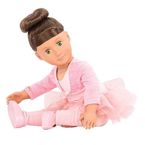 Our Generation Sydney Lee-Deluxe Doll and Book Toy, - Style Fashion Sydney