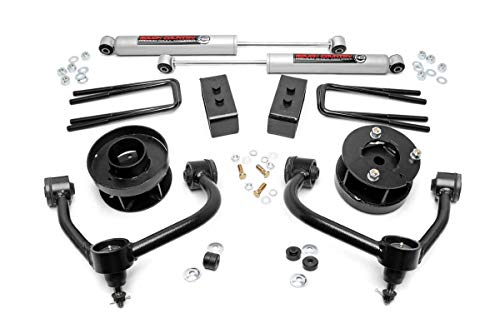 Rough Country 54530 Bolt-On Lift Kit with Shocks for 14-18 Ford F-150 4WD ()
