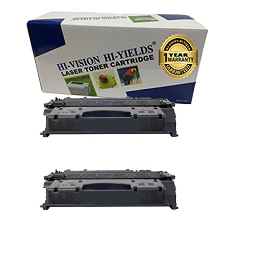 HI-VISION® Compatible Toner Cartridge Replacement Canon 119 (2-Pack) for imageCLASS LBP6300dn,LBP6650dn,LBP6670dn,MF5850dn,MF5880dn,MF5950dw,MF5960dn,MF6160dw