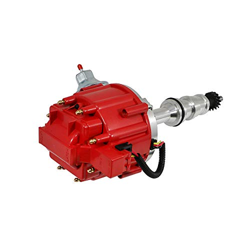 - Assault Racing Products 1039011 For Big Block Ford Red HEI Distributor 65K BBF 360 390 427