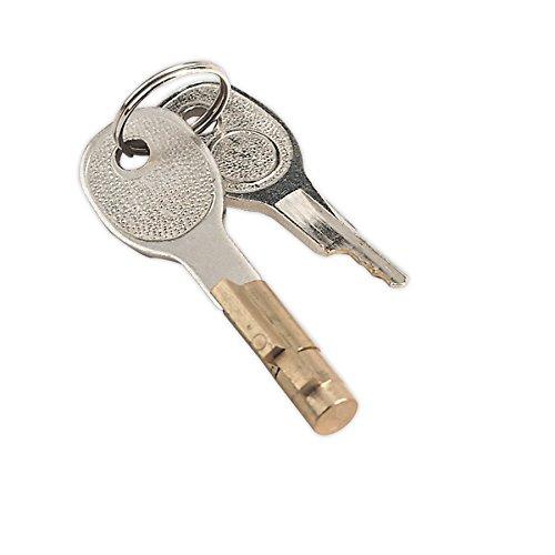 Sealey TB36/LK bloqueo y clave para O50 mm enganche de remolque SEATB36/LK