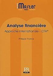 Analyse financière : Approche internationale - CFA