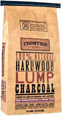 Lump Charcoal Hrdwood Nat 10lb by Frontier