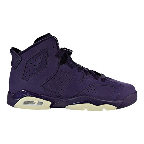 Jordan Air 6 Retro GG Big Kids (PS) Shoes Purple Dynasty/White/Violet 543390-509 (4 M US) by Jordan