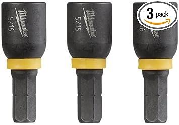 MILWAUKEE ELEC TOOL 49-66-4563 5 Piece Insert Nut Drive Set