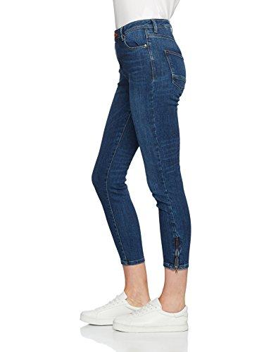 Esprit blue 027ee1b009 Blu Dark Wash Donna Jeans rWCv7r