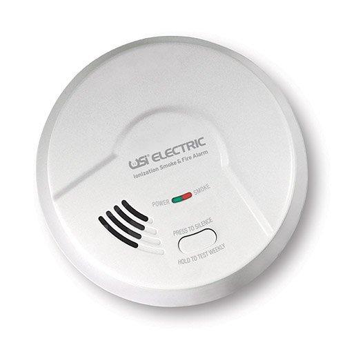 USI Electric 5304 Hardwired Ionization Smoke and Fire Alarm
