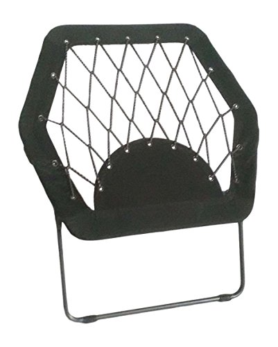 Pearington Sports Folding Portable Outdoor/ Indoor Bungee Chair 26L x 32W x 33H, (Bungee Chair)